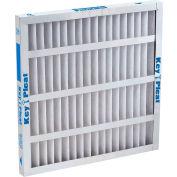 "Purolator® 5251504837 Self-Supported Pleated MERV 8 Filter 24""W x 24""H x 4""D - Pkg Qty 6"