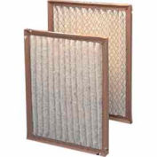 "Purolator® 5256826519 Pinch Frame Pleated Filter 6""W x 36""H x 1""D - Pkg Qty 12"