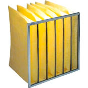 """Purolator® 5276402298 3 Pocket Merv 10 Serva-Pak 50 Series 15""""W x 24""""H x 12""""D - Pkg Qty 8"""