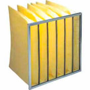 """Purolator® 5276443340 Multi-Pocket Bag Filter Serva-Pak 24""""W x 24""""H x 19""""D - Pkg Qty 4"""