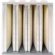 "Purolator® 5360861112 V-Bank Cartridge Filter Serva-Cell 24""W x 24""H x 12""D"