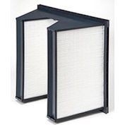 "Purolator® 5360868280 95 Series Reverse Air Flow MERV 14 Serva-Cell Filter 24""W x 24""H x 12""D"