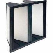 "Purolator® 5360870118 V-Bank Cartridge Filter Serva-Cell 20""W x 24""H x 12""D"