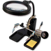 Carson Optical SolderMag™ Solder Station Magnifier w/ 4.5X Spot Lens
