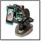 Carson® MS-160UN 40x-1600x Compound Microscope w/Universal Smartphone Optic Digiscoping Adapter