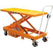 DC Power Hydraulic Scissor Cart - Single - CART-1000-LD-DC
