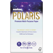 """Boise® POLARIS Copy Paper POL1117, 20 lbs, 11"""" x 17"""", White, 2500 Sheets/Ctn"""