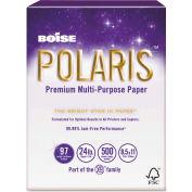 """Boise® POLARIS Copy Paper POL2411, 24 lbs, 8-1/2"""" x 11"""", White, 5000 Sheets/Ctn"""