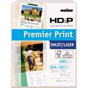 """Boise® HD:P Premier Print Copy Paper PP9624, 8-1/2"""" x 11"""", White, 500 Sheets/Ream"""