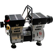 California Air Tools 10TL Ultra Quiet & Oil-Free 1.0 Hp Tankless Air Compressor w/Power Pedal