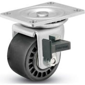 "Business Machine Caster - Swivel w/Brake 3""Dia 700 Cap. Lbs.Urethane Anti-Static"