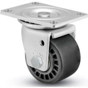 "Business Machine Caster - Swivel with Brake 3""Dia 900 Cap. Lbs. Phenolic"