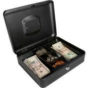 """Barska Cash Box With Keyed Lock CB11834 12"""" x 9-7/16"""" x 3-9/16"""" Black"""