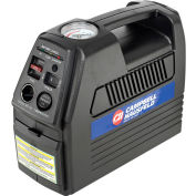 "Campbell Hausfeld CC2300, Cordless Rechargeable Inflator, 12VDC or 120VAC, 230 PSI, 24"" Hose"
