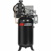 Campbell Hausfeld Two-Stage Electric Air Compressor CE7050, 230V, 5HP, 1PH, 80 Gal