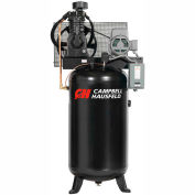 Campbell Hausfeld Two-Stage Electric Air Compressor CE7051, 208V-230V/460V, 5HP, 3PH, 80 Gal