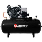 Campbell Hausfeld Two-Stage Electric Air Compressor CE8000, 208V-230V/460V, 10HP, 3PH, 120 Gal
