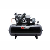 Campbell Hausfeld® CE8001,10 HP,Two-Stage Comp.,120 Gal,Horiz,175 PSI,36 CFM,3-PH 208-230/460V