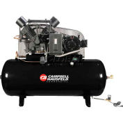 Campbell Hausfeld Two-Stage Electric Air Compressor CE8003FP, 208V-230V/460V, 15HP, 3PH, 120 Gal