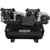 Campbell Hausfeld CE8203FP, Duplex Air Compressor, 30HP, 208-230/460V, 200 Gal.