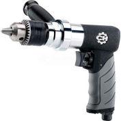 "Campbell Hausfeld CL154600AV, 1/2"" Pistol Air Drill, 0.50 HP, 800 RPM, 15.2 CFM, Reversible, 90 PSI"