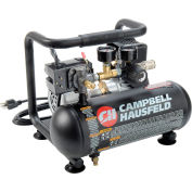 Campbell Hausfeld Portable Air Compressor CT100100AV, Contractor Grade, 120V, 1HP, 1 Gal