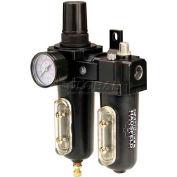 Campbell Hausfeld Filter/Regulator/Lubricator PA211400AV, 75 SCFM, 250 Max PSI