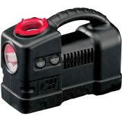 Campbell Hausfeld Tire Inflator W/Safety Light RP320000AV, 12V, 150 Max PSI, 36'L Hose
