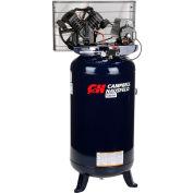 Campbell Hausfeld® TQ3104, 5HP, Single-Stage Comp, 80  Gal, Vert., 140 PSI, 16CFM, 1PH 208-230V