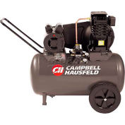Campbell Hausfeld Portable Air Compressor VT6183, 120V, 2HP, 20 Gal