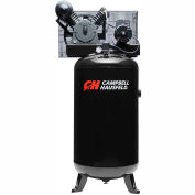 Campbell Hausfeld Two-Stage Electric Air Compressor XP5810, 240V, 5HP, --PH, 80 Gal