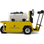 Columbia Sanitization Stockchaser 4 Wheel Vehicle with Spray Bar & Wand, 24V