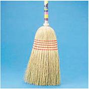"Maid Broom Mixed Fiber Bristles, 42"" Wood Handle - BWK920YEA"
