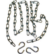 Hanging Chain Kit 1800.CS.S.20 for Straight Configuration Infrared Heaters 20'L