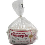 8-12 Cup Coffee Filters, 100 Count, MF100