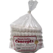 8-12 Cup Coffee Filters, 200 Count, MF200