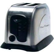 Classic Coffee Concepts TO103A - Toaster, 2-Slice, Electronic, Auto Shut-Off, Stainless Steel