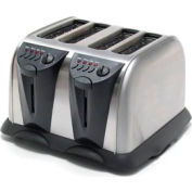 Classic Coffee Concepts TO110A - 4-Slice Electronic Toaster, Heavy Duty, Stainless Steel