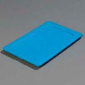 Carlisle 3058160 - Smart Lids™ One-Quarter Size Lid, Blue - Pkg Qty 6