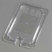 "Carlisle 10297U07 - TopNotch® Universal Flat Notched Lid, 10-1/4"" x 6-3/8"", Clear"