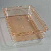 "Carlisle 1040113 - Topnotch® Full-Size Pan 20-3/4"" x 12-3/4"", Amber, 4"" Deep - Pkg Qty 6"