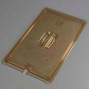 "Carlisle 10411U13 - TopNotch® Universal Handled Notched Lid, 20-3/4"" x 12-3/4"", Amber"