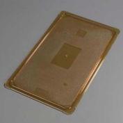 "Carlisle 10416U13 - TopNotch® Universal Flat Lid, 20-3/4"" x 12-3/4"", Amber"