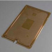 """Carlisle 10417U13 - TopNotch® Universal Flat Notched Lid, 20-3/4"""" x 12-3/4"""", Amber"""