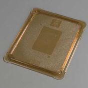 "Carlisle 10436U13 - TopNotch® Universal Flat Lid, 12-3/4"" x 10-3/8"", Amber"