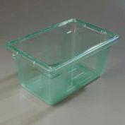 "Carlisle 10612C09 - Storplus™ 5 Gallon Box 18"", 12"", 9"", Green - Pkg Qty 6"