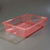 "Carlisle 10621C05 - Storplus™ 8.5 Gallon Box 26"" x 18"" x 6"", Red - Pkg Qty 6"