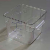 Carlisle 1072407 - Storplus™ Container 12 Qt., Clear - Pkg Qty 6