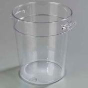 Carlisle 1076407 - Storplus™ Round Container 4 Qt., Clear - Pkg Qty 12
