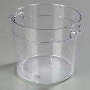Carlisle 1076507 - Storplus™ Round Container 6 Qt., Clear - Pkg Qty 12